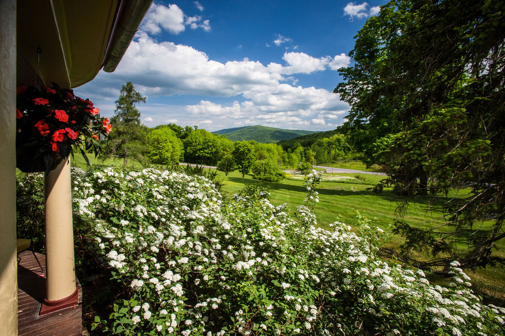 porch view Margaretville mountain inn
